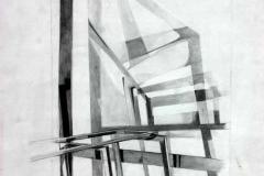 Árnyékok (2000. 42x29cm, ceruza