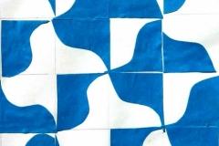 Kék sominta 2000. 21×29cm, szines papír