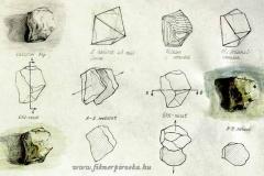 Kő-nézetek1. 2000. 29×21cm, ceruza-tempera