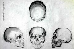 Kopnya nézetek 2001. 29×42cm, ceruza
