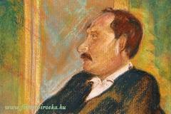 József 2001. 18×28cm, pasztell