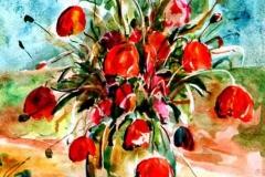 Csendélet 2005. 27,5×21cm akvarell
