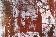 Razglednicák 1 2009. 402×297cm monotípia
