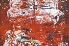Razglednicák 2 2009. 2009. 402×297cm monotípia
