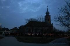 Húsvéti körmenet e Református Templomnál