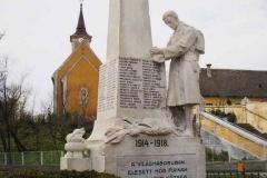 A Hősök tere az I. Világháborús Emlékművel