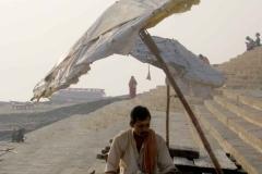 21. Reggel a Ganges partján Varanasiban