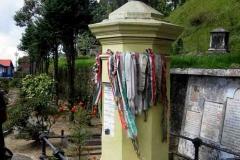 28. Kőrösi Csoma Sándor sírja Darjeelingben