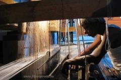 Aurangabadi szővőműhelyben