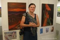 Munkáimmal Mumbai kiállításon
