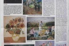 2003. 10. 30. Budapest, Aulart Galéria - XIII. ker. -i HÍRNÖK 2003. 11. 26-i szám