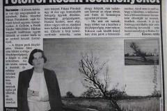 2001. 12. 01. Győr, Petőfi Sándor Művelődési Ház - Blikk 2002. 01. 21-i szám