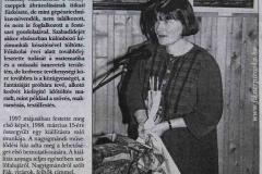 2001. 05. 06. Madarak, Fák Napja - Komárom Csoknai Művelődési Központ - HÍRLAP