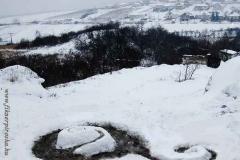 Spirál a hóban
