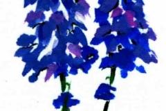 F-T-7 Kék virágok