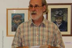 Bukta Imre Munkácsy díjas egyetemi docens megnyitja a kiállítást1