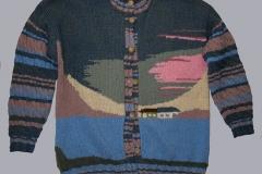Bakfis kötött kabát 1996-97.