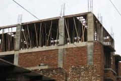 34. Építkezés valahol Indiában