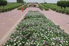 49. Ghandi sírja felé Delhiben